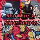Extra Large weighted Blanket - Star Wars and Superheroes $170.0 AUD