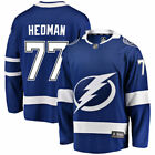 Victor Hedman Tampa Bay Lightning Blue Home Breakaway Player Jersey