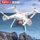 Original Syma X8SW RC Drone 2.4G 4CH Wifi Camera FPV Real Time Large Quadcopter