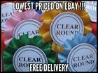 Rosettes x 10 Clear Round Please Choose Colour Pack From List CRAZY PRICE!!!!!