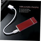USB Charging Lighter Windproof Rechargeable  Ultra-Thin G-Sensor Lighter Ls