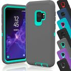 Samsung Galaxy S9 / S9 Plus Case Cover Shockproof Hybrid Hard Rugged Rubber TPU <br/> 100% Money Back Guaranteed - CHOOSE CORRECT Phone Model