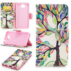 Colors Pattern Wallet Case Flip PU Leather Stand Cover For Multi Mobile Phone