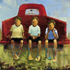 """27W""""x27H"""" TAILGATE NO. 5 by REBECCA KINKEAD -KIDS PICKUP TRUCK CHOICES OF CANVAS"""