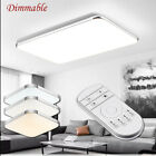 Dimmable Remote LED Recessed Downlight Led Panel Ceiling Light Living Room Light
