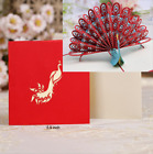 3D Pop Up Greeting Cards Happy Birthday Mothers Day Anniversary Gift Postcards