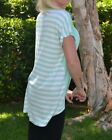 BRAND NEW WOMEN'S CLOTHING SOLID/STRIPE TUNICS | 4 COLORS |