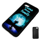 LILO & STITCH FAMILY QUOTE PROTECTIVE PHONE CASE COVER fits Iphone BLACK