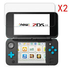 For Nintendo 2DS XL LL Carrying Case Bag /Screen Protector Film/Clear Cover Kits