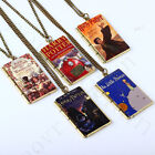 matrix film order - Harry Potter Jewelry Book Necklace Film Pendant Jewelry Toys Gift Cosplay Kids