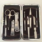 Beauty Pedicure   Manicure Set Nail Care Clippers Cleaner Cuticle Kit Gift Case