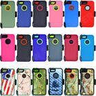 For Apple iPhone 5/5S Defender Case Cover(Clip Holster Fits OtterBox Series)