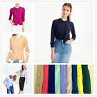 Jcrew Cotton Cardigan Knitted Sweater 11 COLORS XS/S/M/L/XL
