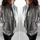 Women Vogue Crew Excursion Quilted Puffer Vest Padded Herrin