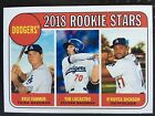 2018 Topps Heritage Baseball Short Print, Inserts, Refractor - Pick Your Player