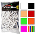 "Pride Deluxe 100% Hardwood Tees - 2 /34"" Wood Tee 100 Pack - Choose Your Color!"