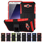 For Samsung Galaxy J7 Neo/NXT Hybrid Dual Layer Armor Defender Holder Case Cover