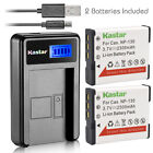Kastar Battery LCD Charger for Casio NP-130 & Casio Exilim EX-100 Exilim EX-H30