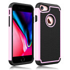 For Apple iPhone 7/8 Case Shockproof Armor Hybrid Rugged Rubber Hard Phone Cover