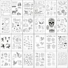 Transparent Clear Silicone Rubber Stamp DIY Cling Diary Scrapbooking Card Decor