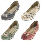 Tma Leather Women's Flats Real Comfort Shoes 5088 Slippers Size 36-42