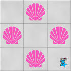 Shells Vinyl Wall Tile Transfers Stickers Decals Bathroom Home Decor