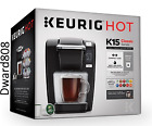 Keurig K15 Coffee Maker BLACK BRAND NEW 100 FREE SHIPPING