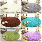 Paracity Bedroom Carpet Super Soft Circular Room Rugs Shaggy Floor Round Carpets