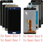 Fr Huawei Honor 6 7 8 9 LCD Display Touch Screen Digitizer Assembly (With) Frame