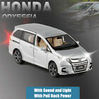 1:32 Honda Odyssey MPV Metal Diecast Model Car Toy Collection Sound&Light Gift