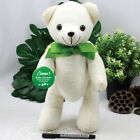 Personalised Baby Shower Signature Bear - Green Bow - Add a Name & Message