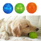 US Pet Dog Puppy Chew Ball Play Toy For Dental Teeth Cleaning Healthy Teething