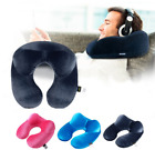 Neck Travel Pillow 4 Colors U-Shape Airplane Inflatable Comf