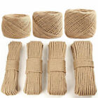 Fine hand woven hemp cable retro decorative natural jute twine tied rope roug