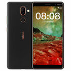 Nokia 7 Plus Android 8.1 Snapdragon 660 Octa Core WIFI GPS Touch ID Mobile Phone
