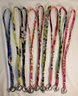Vera Bradley Lanyard Key Ring in Many Choices NWOT