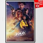 Solo A Star Wars Story Movie Poster Film Print  | A5 A4 A3 £5.99 GBP on eBay