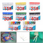 1 Pack Dental Materials 200 Absorbent Paper Points Root Cancel Endodontic 15~80#