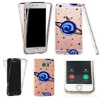 for galaxy core prime clear case 360° cover gel - astonishing designs