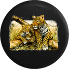 Leopard in the Tall Grass Big Cat Jeep RV Spare Tire Cover
