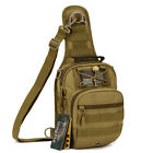 IDOGEAR Tactical Shoulder Bag Sling Pack Chest Crossbody Bag Daypack Hiking Camo