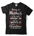 Grandma T-shirt Mother's day Gift T-shirt Gift for Grandmother Funny Tee Shirt
