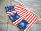 SUNGLASSES NYLON CASES~ PATRIOTIC AMERICAN FLAG ~RED,WHITE & BLUE~3 PACK SPECIAL