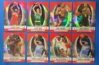 2006-07 Topps Finest Red GREEN GOLD Refractor BRYANT BIRD IVERSON ONEAL PIERCE
