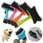 1PC Dog Cat Grooming Self Cleaning Slicker Brush Comb Shedding Tool Hair Fur