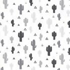 Black & White Fun - Cactus - Cotton Fabric Children's Quilting