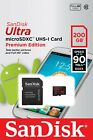 2/4/8/16/32/64/128/200 go sandisk ultra extreme pro c10 micro sd sdhc/sdxc card