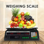 Kitchen Postal Scale Digital Computing Shop Electronic Price Weight Scales 40Kg