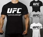 UFC T Shirt Warrior Gym Training Fighter Fit Training MMA Muscle Box Workout