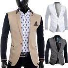 Cipo & Baxx Men's Blazer Jacket Casual Formal Slim Fit Summer college style NEW